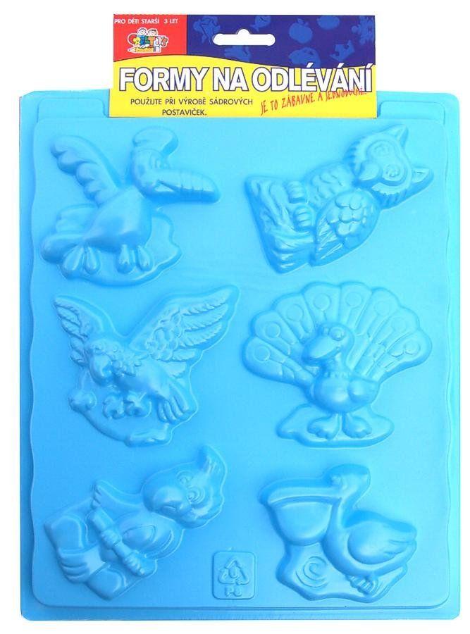 Formy na odlévání ze sádry, Ptáci