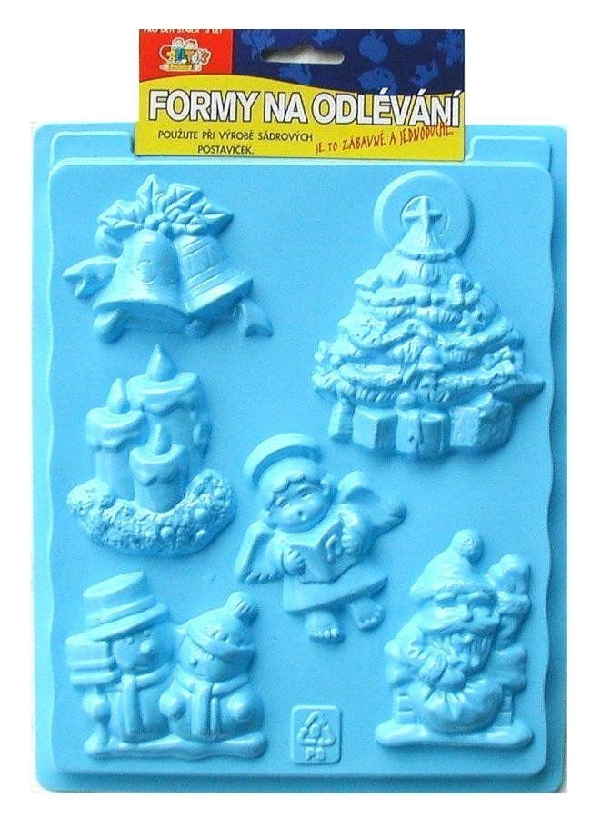 Formy na odlévání ze sádry, Vánoce