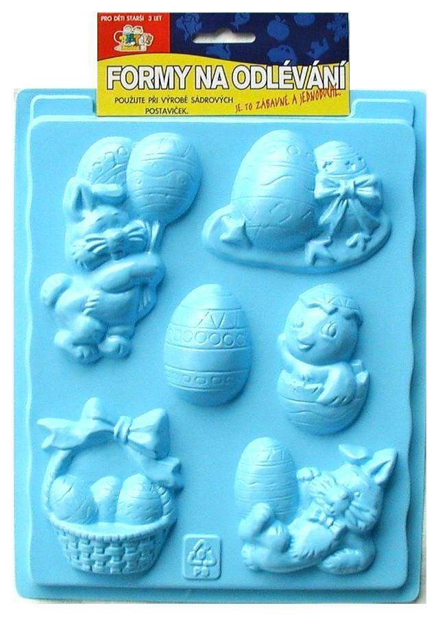 Formy na odlévání ze sádry, Velikonoce