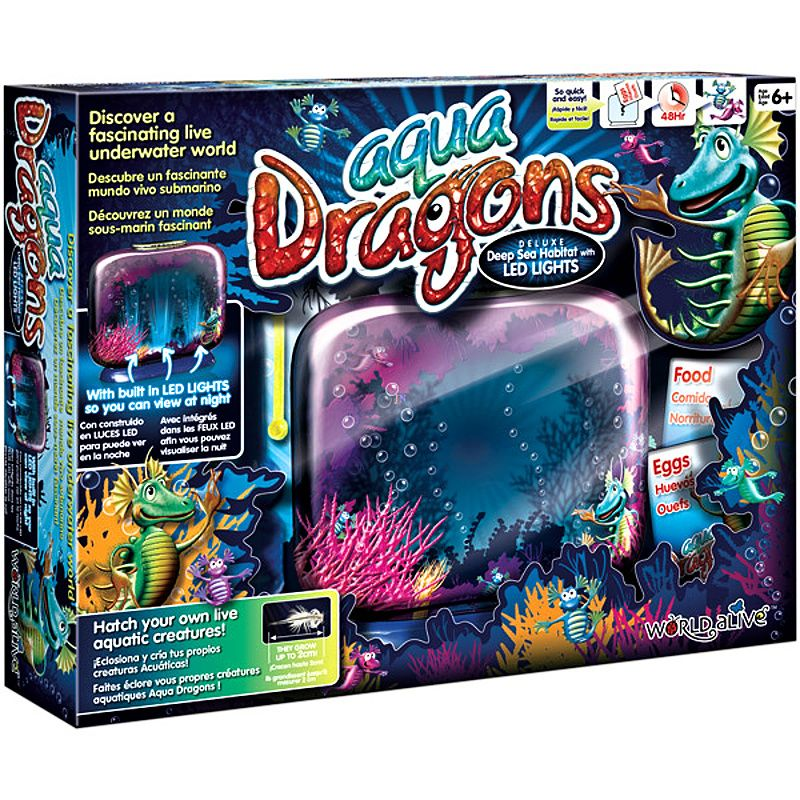 Aqua Dragons, Vodní dráčci, Akvárium s LED osvětlením